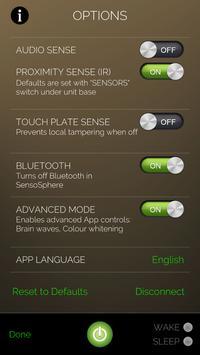 SensoSphere screenshot 1