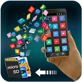 Phone to SD card Mover icon