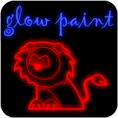 Draw Glow Paint Free Style icon
