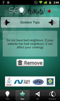 SEO TidBits for Daily SEO Tips screenshot 2