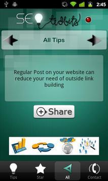 SEO TidBits for Daily SEO Tips screenshot 3