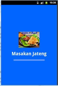 Resep Masakan Jawa Tengah poster