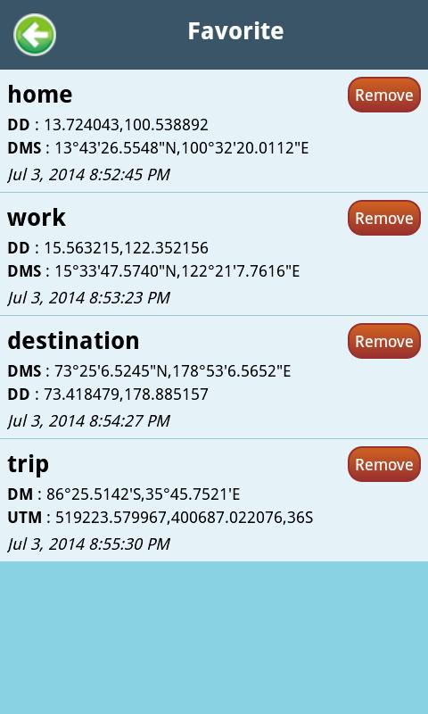 Lat Long Coordinate Conversion for Android - APK Download