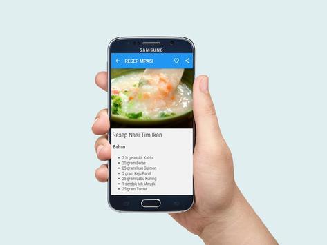 RESEP MPASI Makanan Bayi apk screenshot