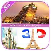 Clock Tower 3D Wallpaper icon