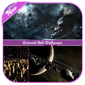 Asteroid Belt Wallpaper icon