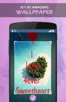 Sweet Heart wallpaper apk screenshot