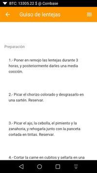 Recetas Fáciles y Rápidas screenshot 3