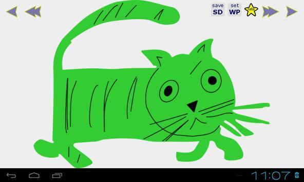 Cats HD Wallpaper screenshot 2