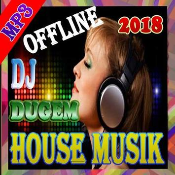 House musik mp3 disco remix poster