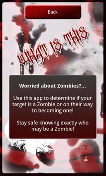 Zombie Scanner Simulation apk screenshot