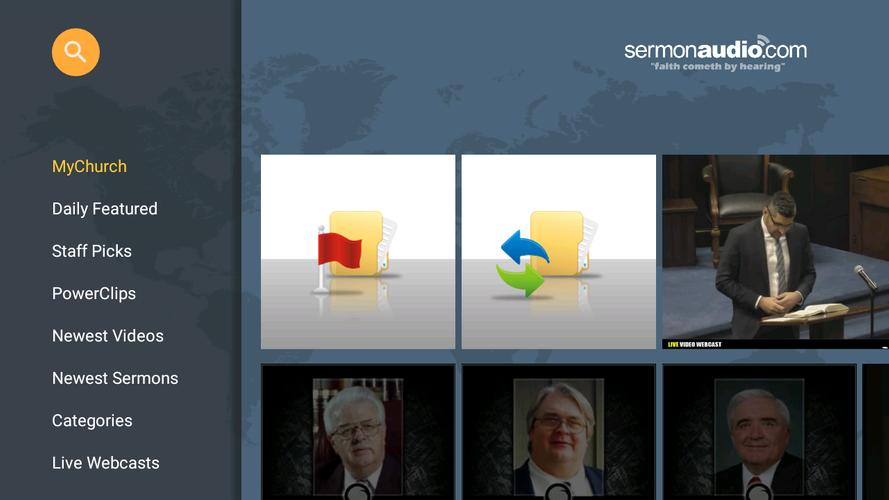 SermonAudio TV Edition for Android - APK Download