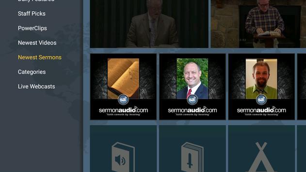 SermonAudio TV Edition screenshot 5