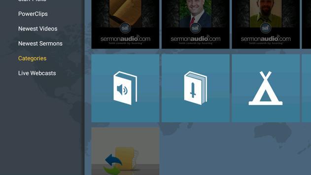 SermonAudio TV Edition screenshot 6