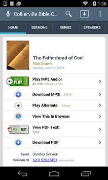 Collierville Bible Church screenshot 1