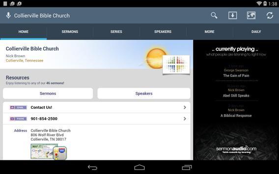 Collierville Bible Church screenshot 5
