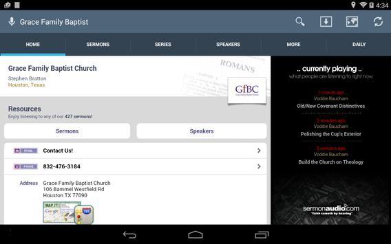 Grace Family Baptist Church screenshot 5