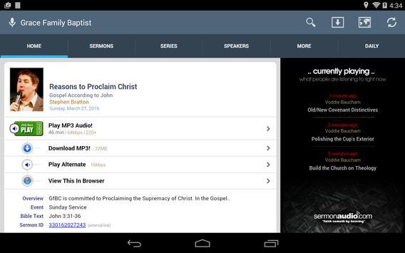 Grace Family Baptist Church screenshot 6