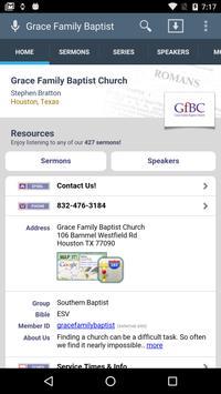 Grace Family Baptist Church poster