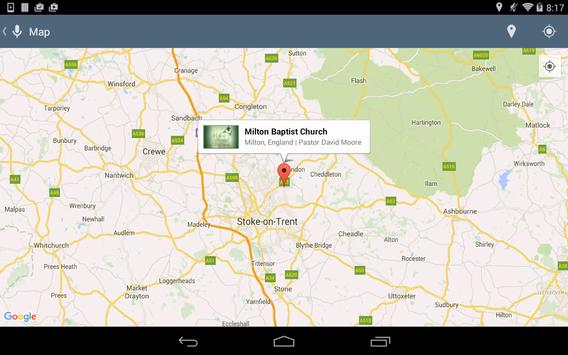 Milton Baptist Church apk screenshot