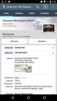 Shawnee Hills Baptist Church poster