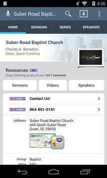 Suber Road Baptist Church poster