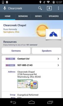 Clearcreek Chapel poster