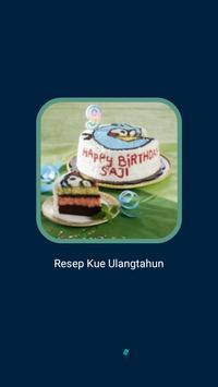 Kue Ulangtahun Populer poster
