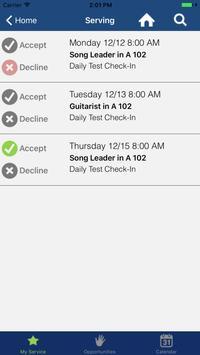 Spencer Church App screenshot 2