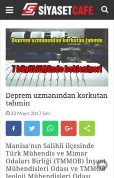 Siyaset Cafe apk screenshot