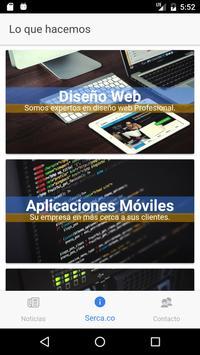 Serca Diseño Web apk screenshot