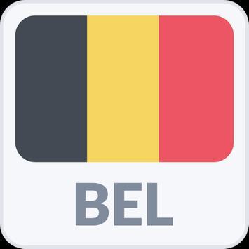 Radio Belgium  All radios of Belgium poster