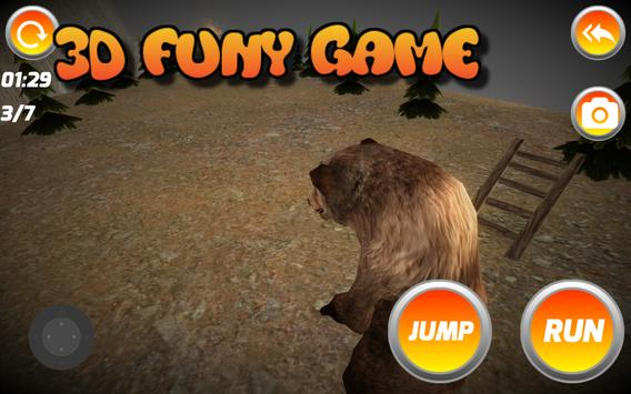 3D MASTER BEAR SIMULATOR screenshot 4