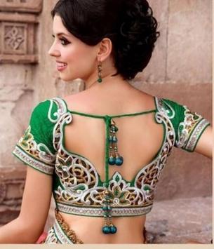 saree blouse beutiful poster