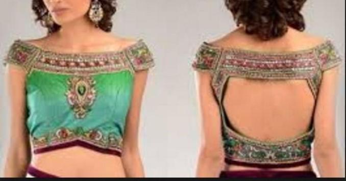 saree blouse beutiful screenshot 1