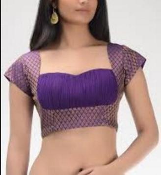 saree blouse beutiful screenshot 2