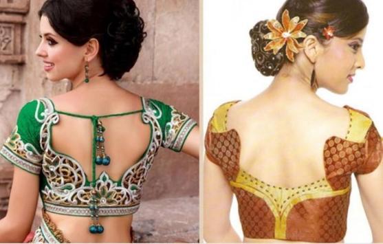 saree blouse beutiful screenshot 4