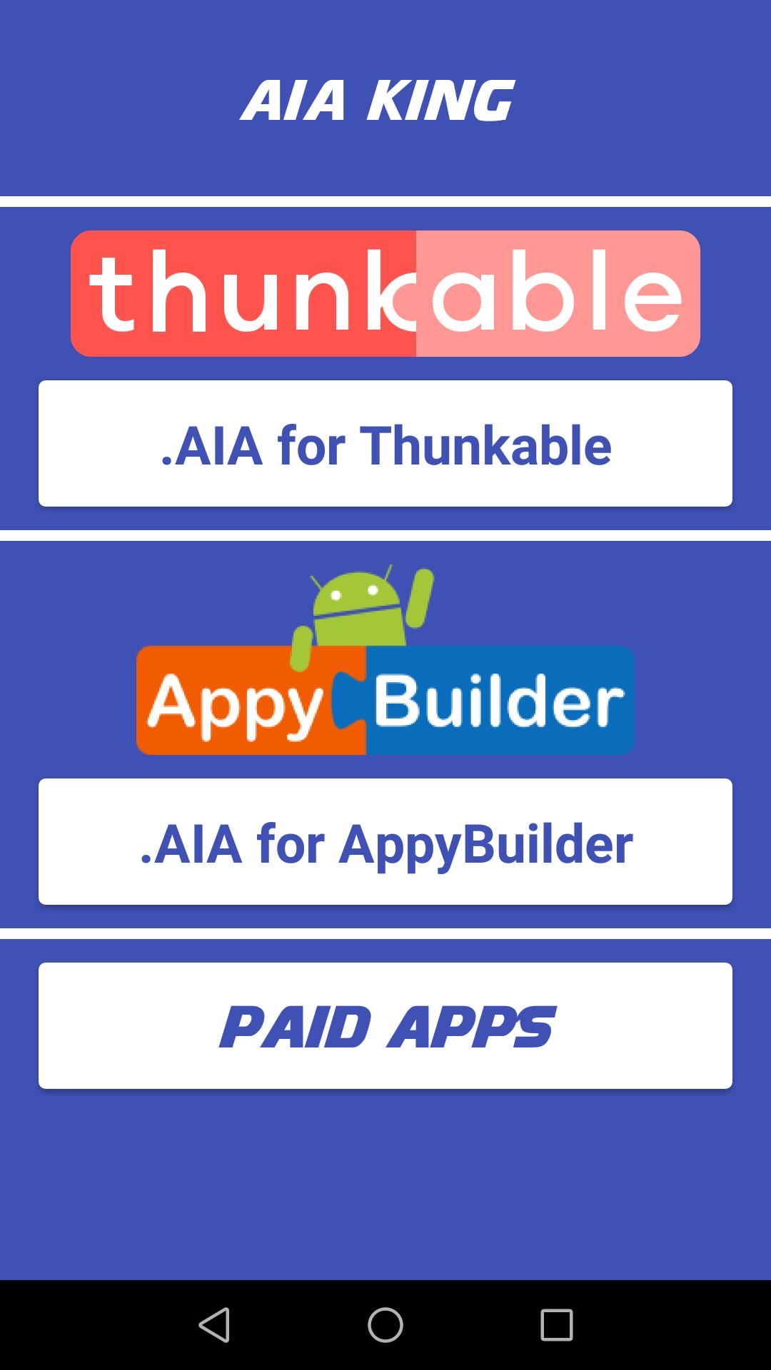 AIA King (Thunkable & Appybuilder AIA File) for Android - APK Download