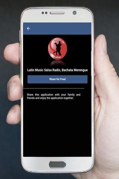 Latin Music Salsa Radio, Bachata Merengue apk screenshot