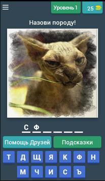 БЕЗ КОТА ЖИЗНЬ НЕ ТА - УГАДАЙ ПОРОДУ КОШЕК! poster