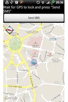 Text My Location apk screenshot