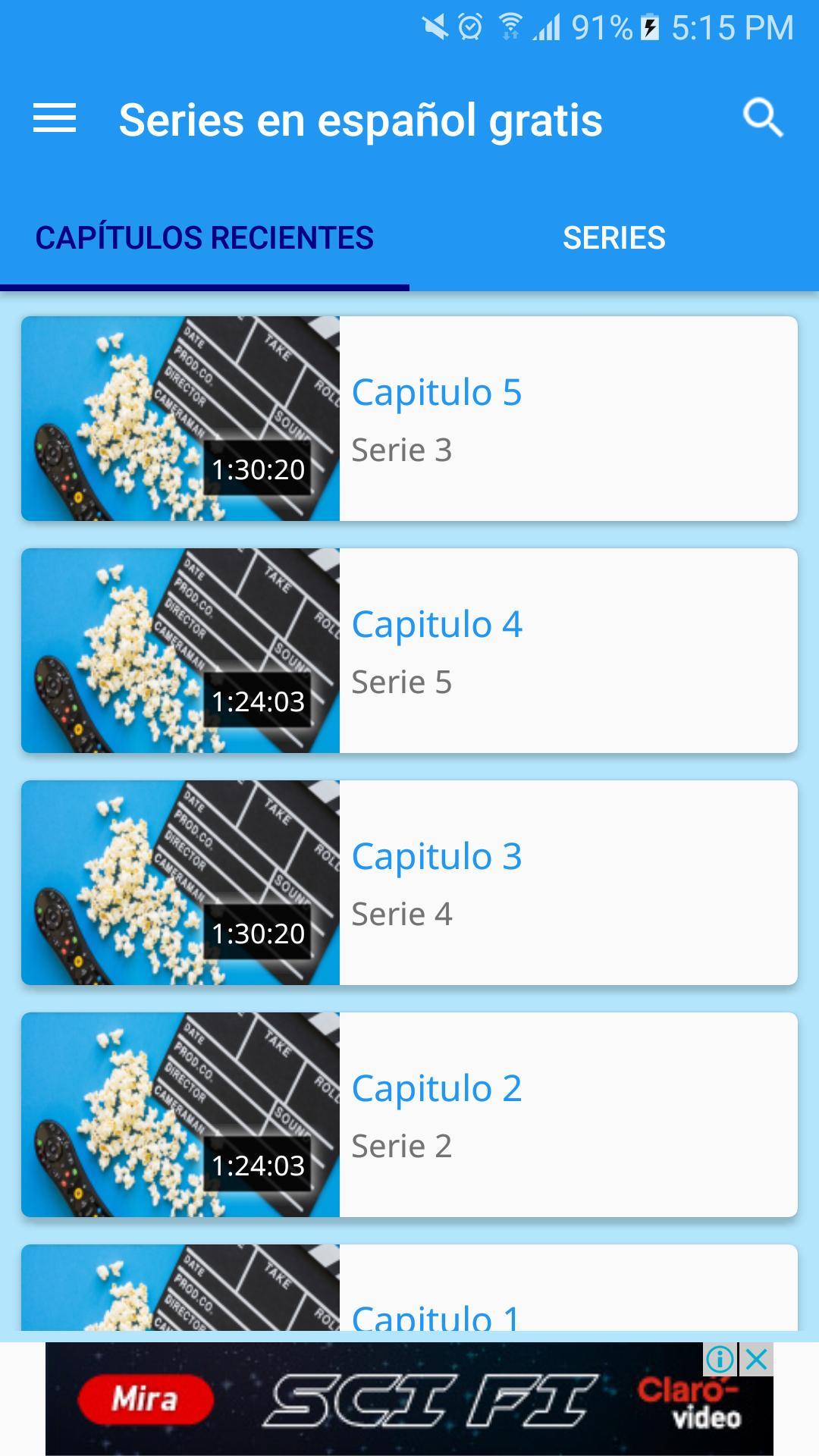 series gratis en español