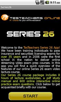 FINRA Series 26 Exam Course poster