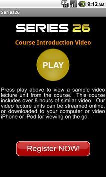 FINRA Series 26 Exam Course apk screenshot