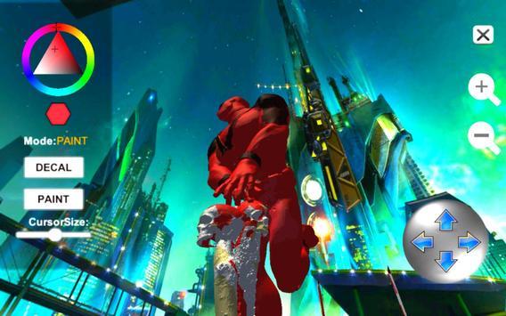 Dead Superhero Ninja Pool Justice Coloring Game screenshot 6
