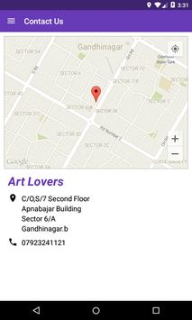 1 Schermata Art Lovers Gandhinagar