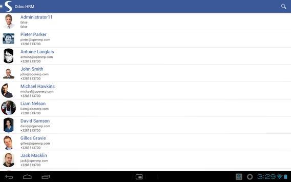 ODOO HRM screenshot 7