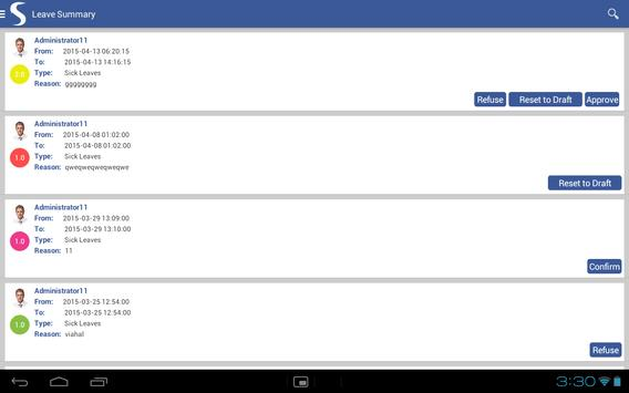 ODOO HRM screenshot 8