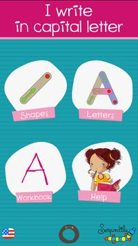 Learn writing capital letter L screenshot 3
