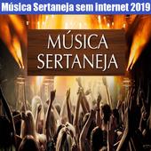 Música Sertaneja Sem internet 2019 ícone